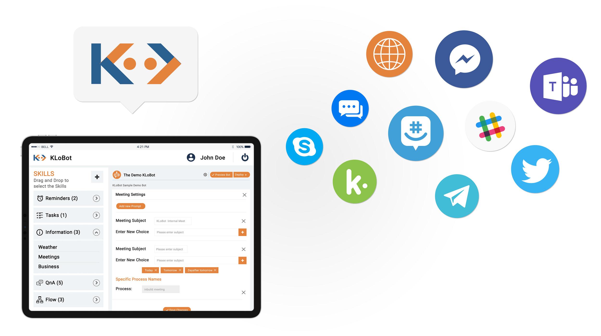 KLoBot - Best AI Chatbot Builder Platform